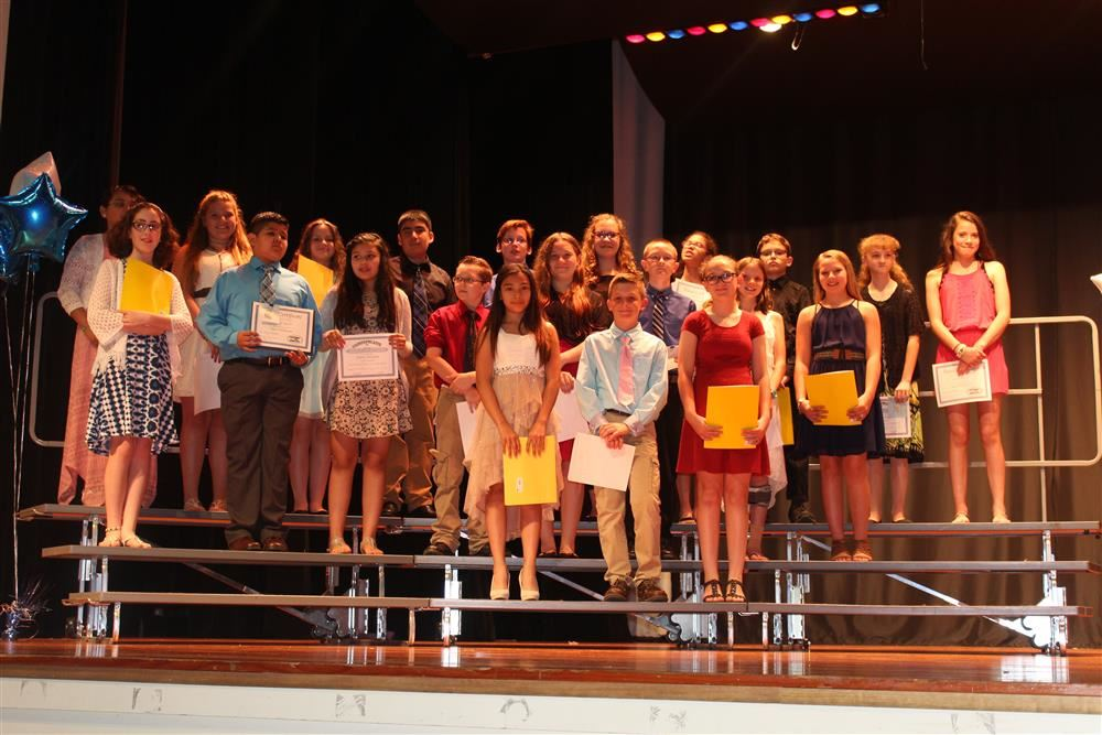 Bendersville 6th Grade Awards