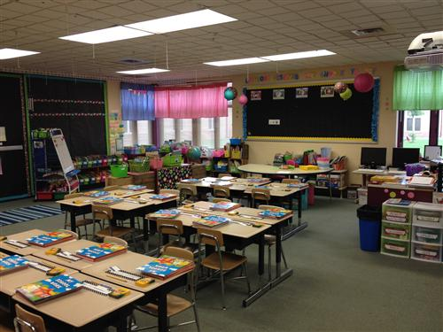 Here's a peek at our classroom.