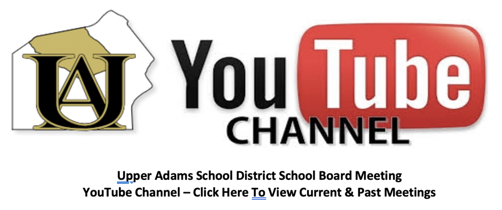 Upper Adams School District School Board YouTube Channel