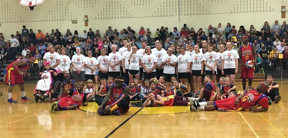 The Harlem Wizards VS Canner Dream Team!